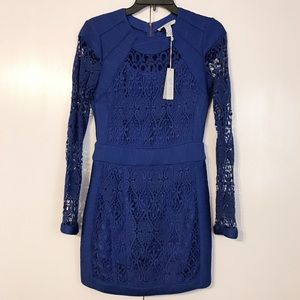 Charlie Jade Cobalt Lace Dress